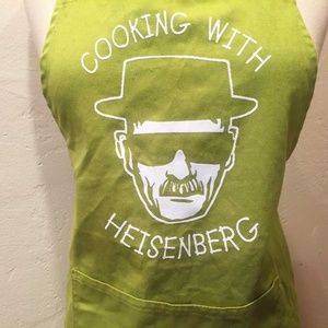 """Cooking with Heisenberg"" Green Apron Breaking Bad"